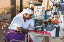 African Street Vendor