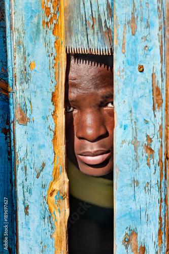 Photo African child portrait