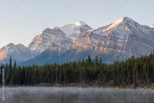 Sunrise on the Mountain Peaks