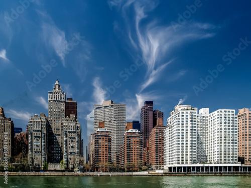 Foto op Aluminium New York Midtown Manhattan from the East River