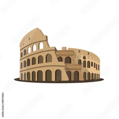 Fotografia, Obraz  Colosseum Flavian Amphitheatre Rome Italy