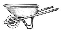 Wheelbarrow Illustration, Draw...