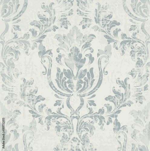 Imperial rococo pattern Vector ornament decor. Baroque background textures. Royal victorian trendy designs