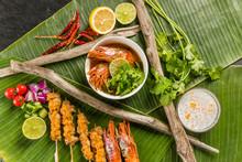 典型的な東南アジア料...