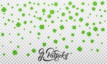Patrick's Day. Clover Shamrock...