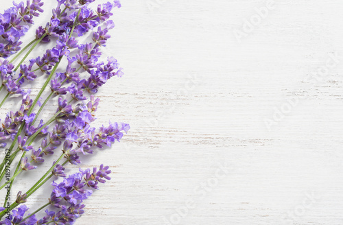 sprigs-of-lavender-on-wooden-shabby-background