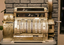 Antiques, An Old Cash Register...