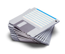 Stack Of Computer Disks