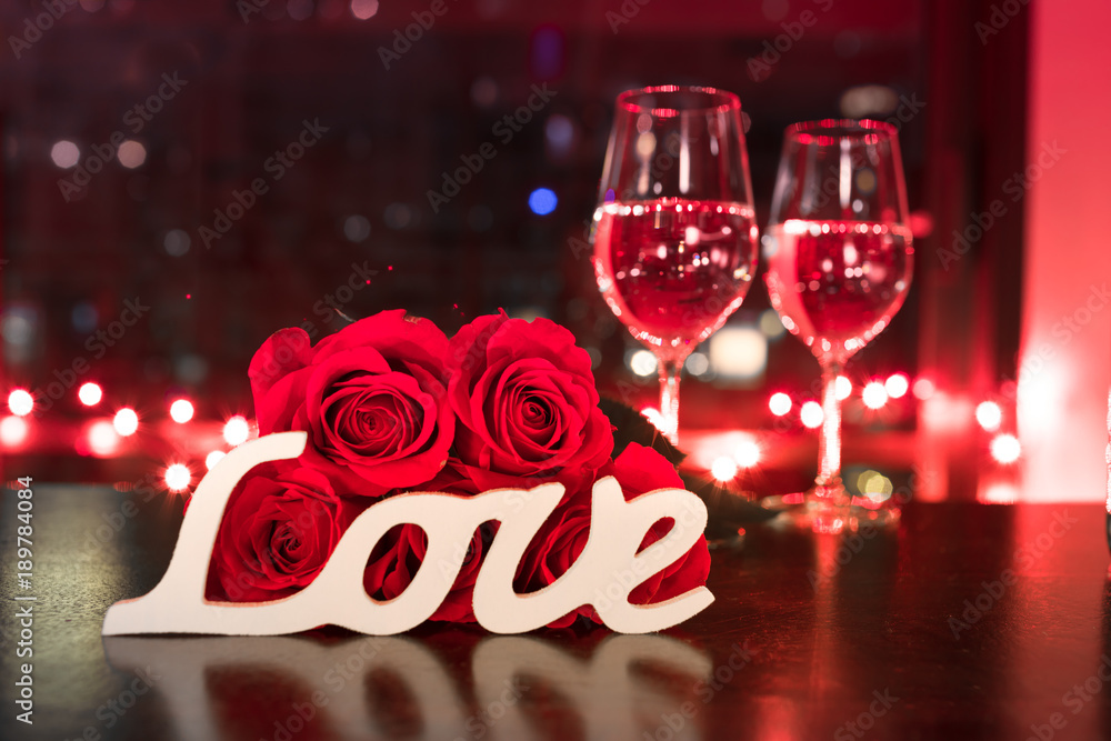 Fototapeta Valentines Day and love concept.