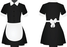 Maid Uniform. Vector Illustrat...