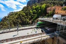 Montserrat Monorail Railway Tr...