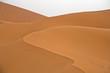 Sand dunes in Erg Chebbi before sunrise, Sahara desert, Morocco, Africa