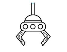 UFOキャッチャー(線画)