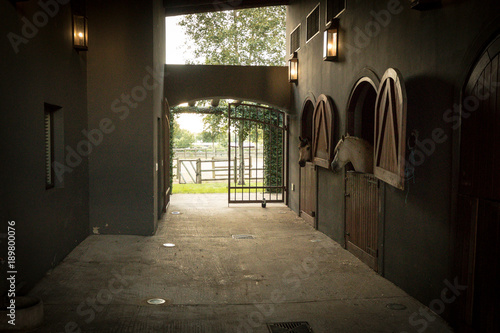 Photo  Horse stables