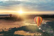 Hot Air Balloon Ride Over Masa...