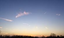 Winter Sky At Dusk
