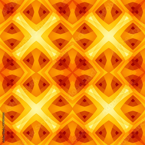 Orange Yellow Red Abstract Texture Home Decor Fabric Design Sample
