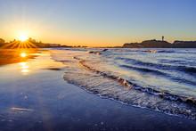湘南の海で2つの太陽