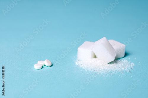 Photo Choice of Sweetener in tablets or regular sugar