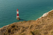 Beachy Head Lighthouse near Eastbourne in East Sussex, England, UK
