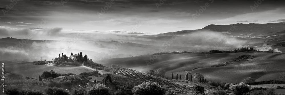 Fototapeta Val d'Orcia - Italie