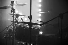 Live Music Photo, Drum Set Wit...