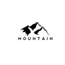 Mountain Abstract Vector Illustration