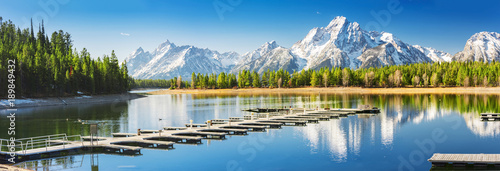 Fotomural Grand Teton National Park, Wyoming, United States of America.