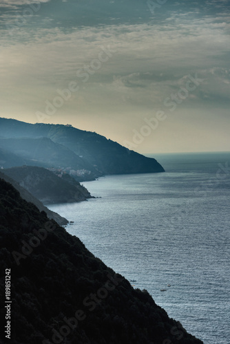 Deurstickers Liguria Impressionen aus Italien - Küste von Ligurien