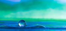 Colorful Water Droplet Splash ...