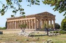 Classical Greek Temple At Ruin...