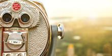Closeup Of Tourist Coin Operat...