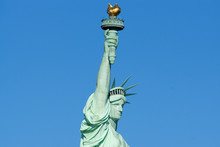 Statue Of Liberty Head And Torch Profile