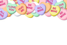 Valentines Day Candy Hearts Ve...