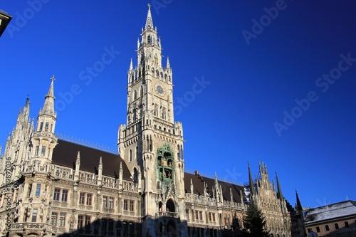 Photographie  Rathaus in München