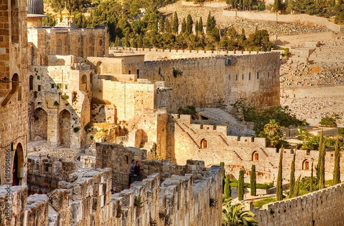 Jerusalem Stones Wallpaper Mural
