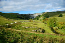 Malham Cove In The Yorkshire D...