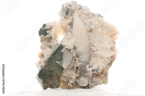 Tuinposter calcite mineral sample