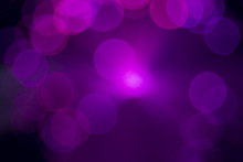 Bokeh Purple Lights