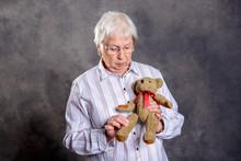Grandmother With Stethoscope I...