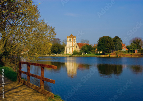 Photo The Church by the River - All Saints Church, Bisham on the banks of the River Thames near Marlow