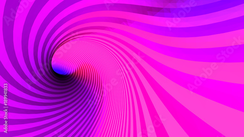 vector optical illusion, twisted abstraction, background of colored triangles Lerretsbilde