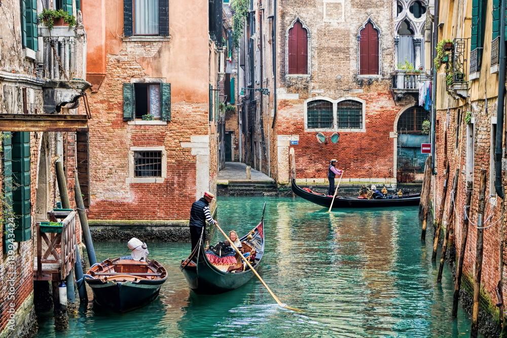 Fototapety, obrazy: Venedig, Kanal