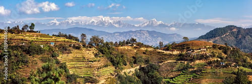 Canvas Prints Nepal Landscape East of Kathmandu, Nepal