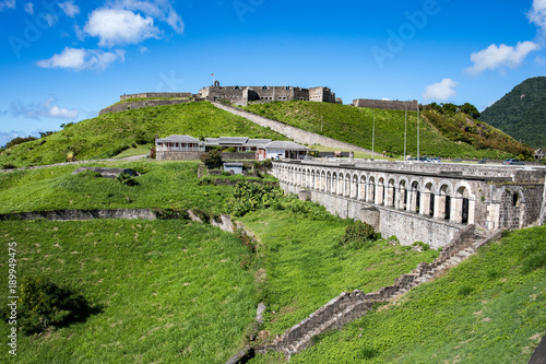 Foto  Brimstone Hill Fortress National Park, Saint Kitts & Nevis in the Caribbean