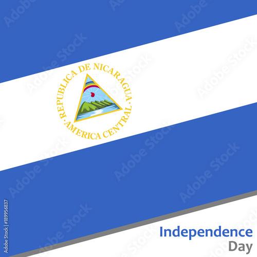 Fotografie, Obraz  Nicaragua independence day