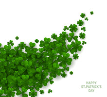 Patrick Day Diagonal Border Wi...