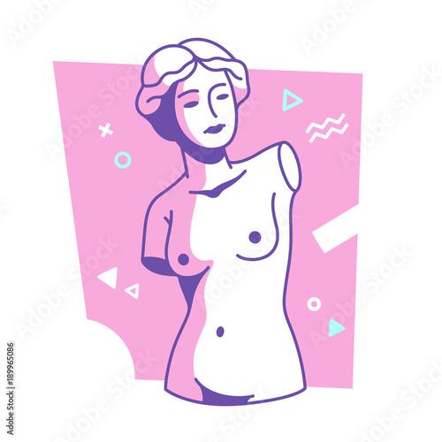 Fotografie, Obraz  Modern Venus statue