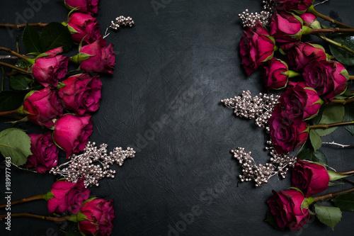 Fotografie, Obraz  Gothic wedding flowers decor