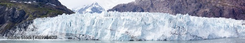 Poster Glaciers Alaska's Glacier Panorama